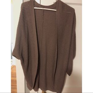 Charlotte Russe oversized cardigan